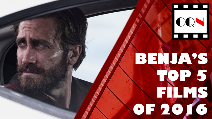 Benja's Top 5 Films of 2016