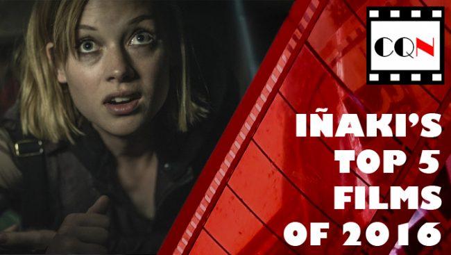 Iñaki's Top 5 Films of2016