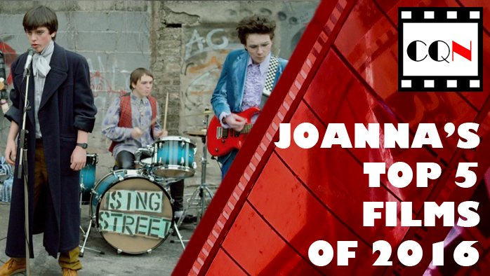 Joanna's Top 5 Films of 2016