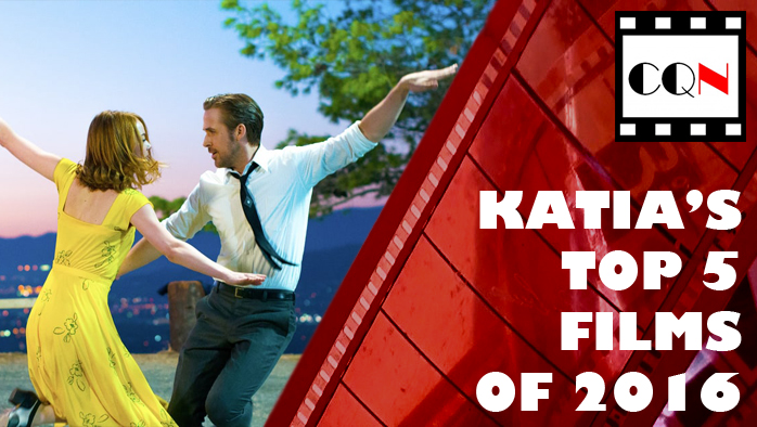 Katia's Top 5 Films of 2016