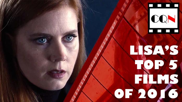 Lisa's Top 5 Films of2016