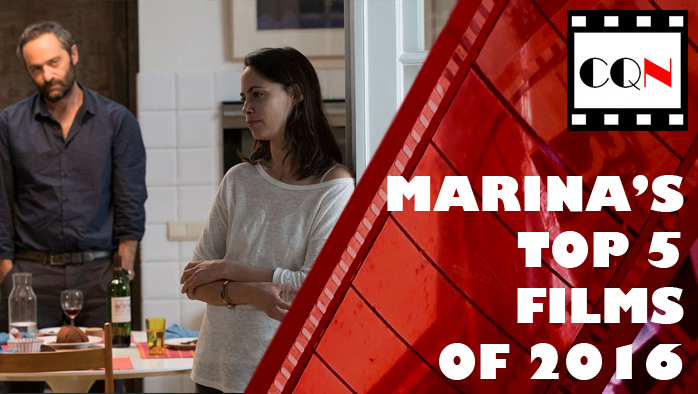 Marina's Top 5 Films of 2016