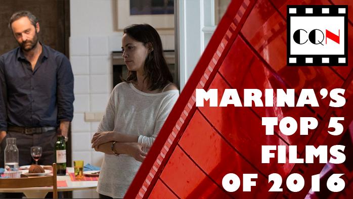 Marina's Top 5 Films of2016